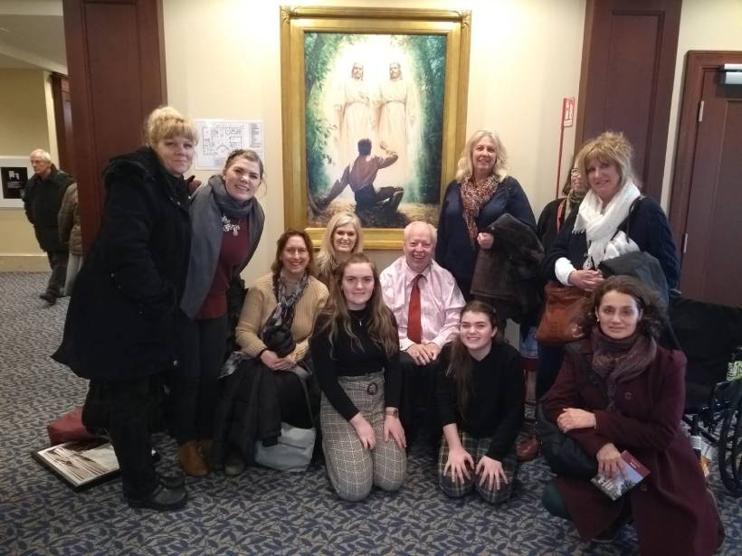 Friends & support at Women's International Network in Florence