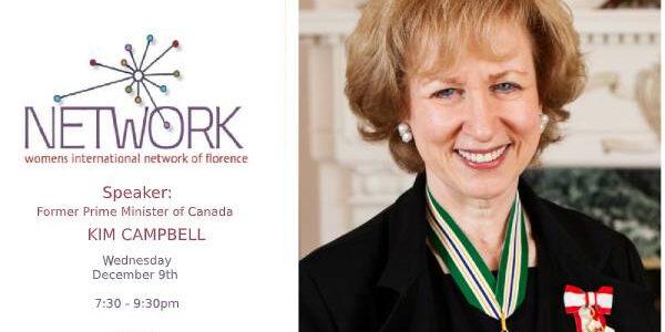 Speaker: KIM CAMPBELL, Former Prime Minister of Canada
