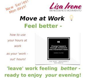 Move while you work Lisa Irene