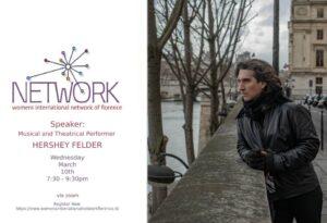 Hershy Felder: WIN March Monthly Meeting